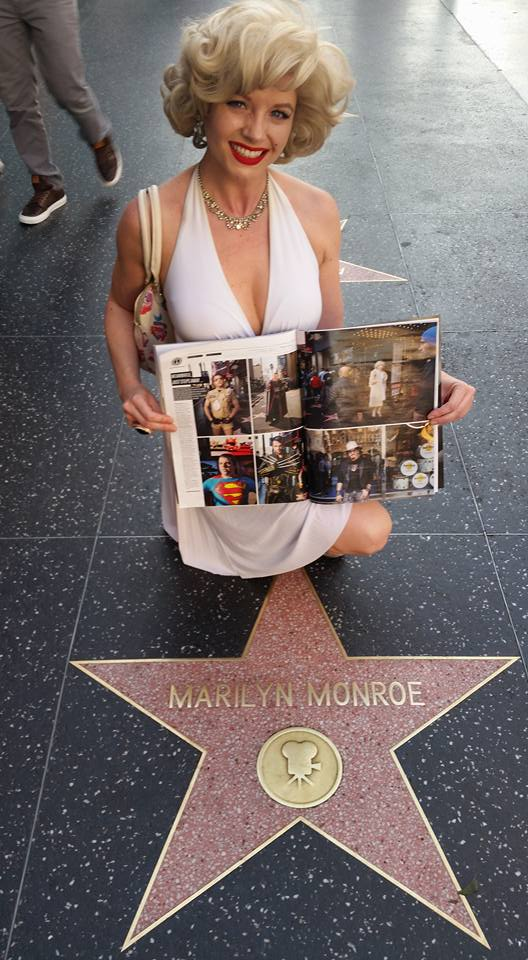 Marilyn holds THR