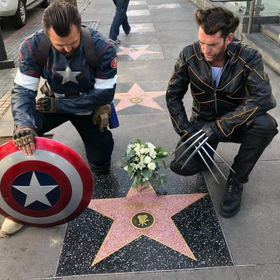 Stan Lee Star Respects